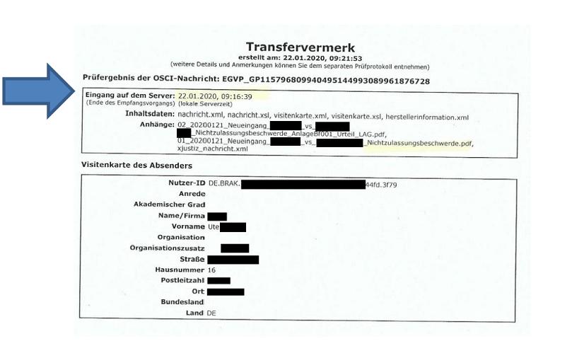 Elektronischer Rechtsverkehr / BeA